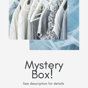 MOVING CLOSET CLEAROUT • Mystery Box